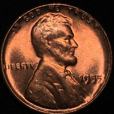 1955 Double Die Obverse Ddo Lincoln Cent Magnificent Rare Gem Bu +++++++++ 102