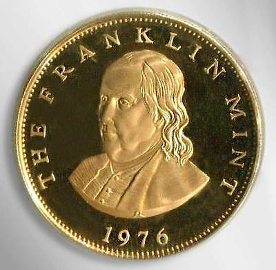 The Franklin Mint Commemorative Coin 1976
