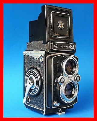 YASHICA MAT with Rare LUMAXAR 80mm lens