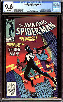 Amazing Spider-Man 252 CGC 9.6 NM+ 1st Appearance of the black costume