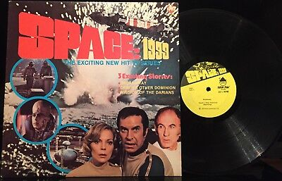 Original 1975 Power Records SPACE:1999 story LP