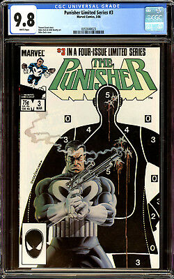 Punisher Limited Series 3 CGC 9.8 NM/MT