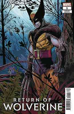 RETURN OF WOLVERINE 1 1:500 TODD McFARLANE REMASTERED VARIANT NM HE'S BACK BUB