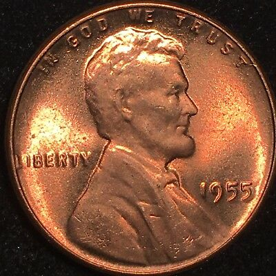 "1955 Lincoln Cent Double Die Obverse Gorgeous Ms Gem Bu ""Extremely Rare"" Ddo 102"