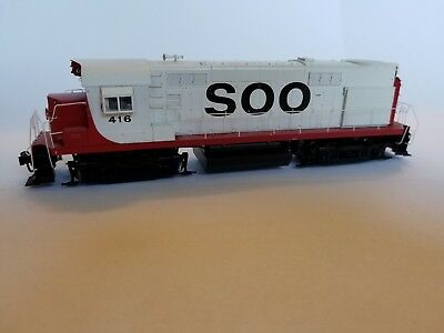HO RS27 Locomotive 920-31350 SOO $416 with DCC & sound Limited Edition Used