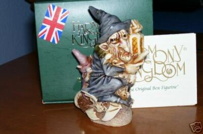 Harmony Kingdom Witching Time Halloween Witch Marble Resin Box Figurine UK Made