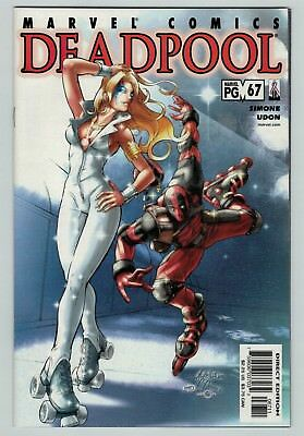 Deadpool 67 Dazzler appearance 2001 series rare Marvel Comics HTF