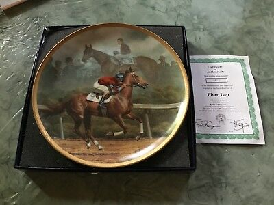 Fred Stone Phar Lap Racing Legends Series Plate