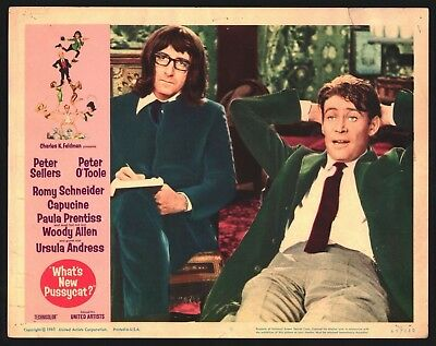 WHATS NEW PUSSYCAT Lobby Card (Good) 1965 Peter Sellers Peter O'toole 15888