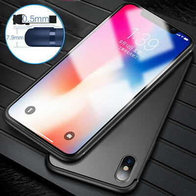 Soft Silicone Rubber TPU Thin Gel Phone Case Cover For Apple iPhone XS Max XR X