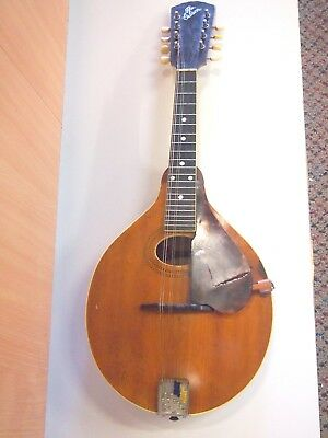 Vintage Gibson Mandolin Model A-1 & Case Kalamazoo, Michigan Usa Approx 1908