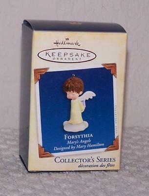 2005 Hallmark Ornament - Mary's Angels - Forsythia - 18th in Series