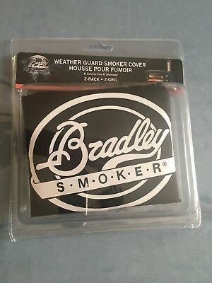 Bradley Smoker 2 Rack Weather Guard Resistant Cover BTWRC712