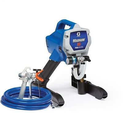Graco Airless Paint Sprayer Painting Spray Magnum X5 Exterior Interior Project