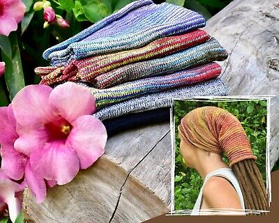 Dread Sock / Very Long Head Band for dreads & braids - many colours!