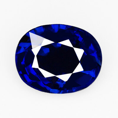 VVS 2.45Ct 9x7mm Natural Sri Lankan Blue Sapphire Precious Faceting UQLB20
