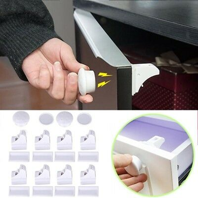Magnetic Child Baby Proof Safety Cabinet Door Locks