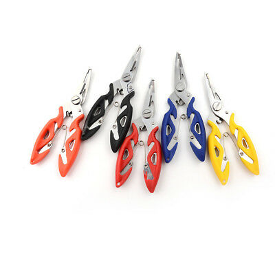 Portable Fishing Pliers Scissors Line Cutter Hook Tackle Accessories SportTool0T