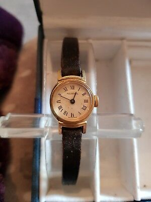 Ladies Vintage Art Deco Ingersoll Swiss Made Mechanical Watch cal.5001