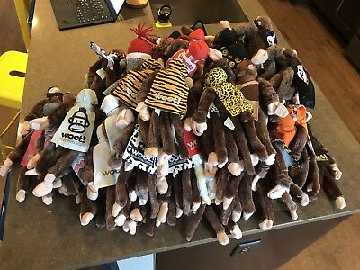 HUGE lot of 85 Woot Monkeys - Many RARES - Great Condition - Huge Variety