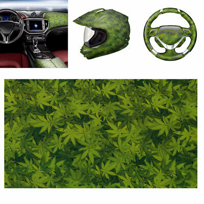 Hydro Dip PVA Hydrographic Printing Water Transfer Dipping Film Green Leaves