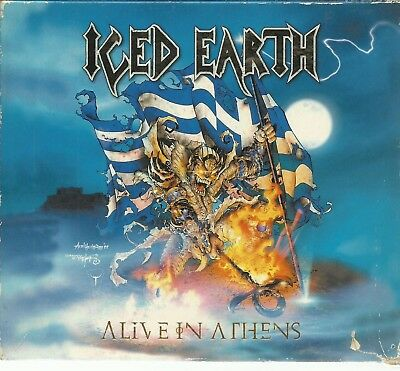 Iced Earth - Alive In Athens - Cd Triple Century Media 1999