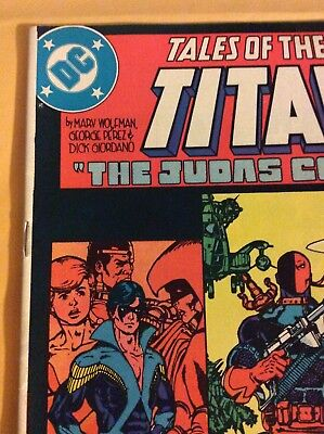 Tales Of The Teen Titans #44 (1St Nightwing Appearance /deathstroke Origin) Wow!