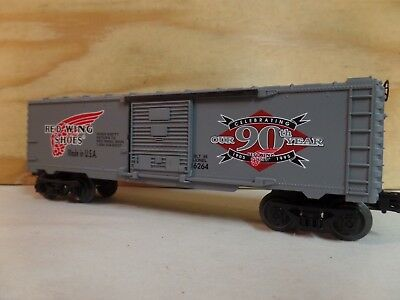 Lionel Train Red Wing Shoes Billboard 40' Railroad Freight Box Car 6-16264