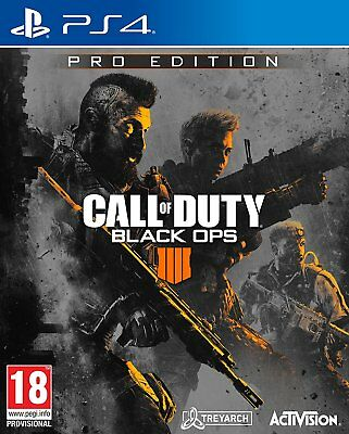 Call of Duty: Black Ops 4 - Pro Edition (PS4)  NEW AND SEALED - QUICK DISPATCH