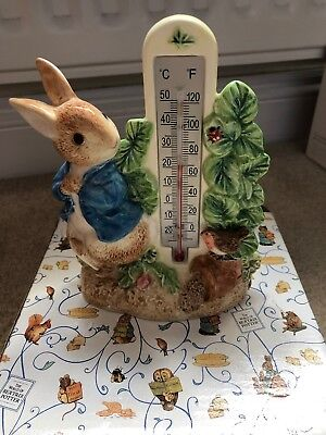 Peter Rabbit Nursery and Baby Room Thermometer Ceramic