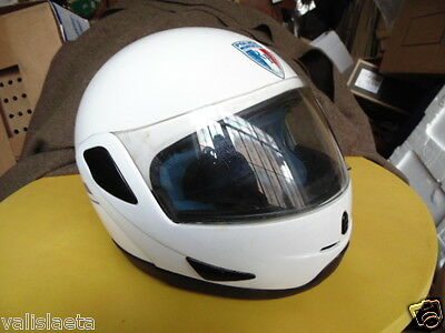 Casque Motard Police Municipale Ancien Modele / Obsolete