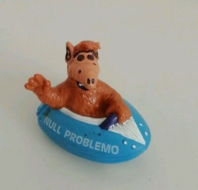 Alf Figur, Null Problemo, im blauen Boot  West Germany, Bully 1988