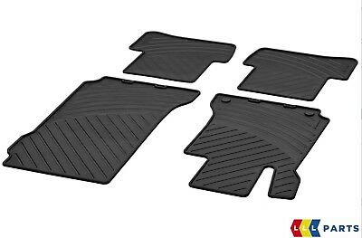 New Genuine Mercedes Benz C Class W204 Lhd Saloon And Estate Rubber Floor Mats