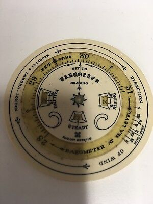 vintage pocket forecaster by Negretti andZambra and leather Case