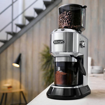 De'Longhi Dedica Coffee Grinder, KG521M Offers Different Settings of Grind Size