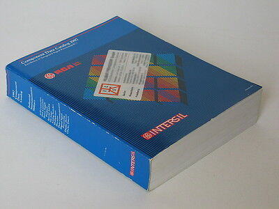 Intersil Component Data Catalog 1987 - Halbleiter Datenbuch
