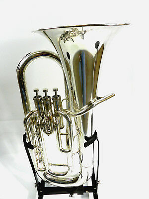 Euphonium Yamaha YEP 201 S Silver case and mouthpiece (DR17-314)
