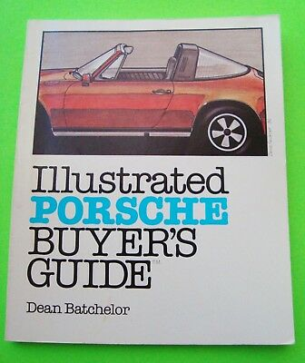 1983 ILLUSTRATED PORSCHE BUYER'S GUIDE 174-pgs LOADED w/ PHOTOS Data SPECS Xlnt