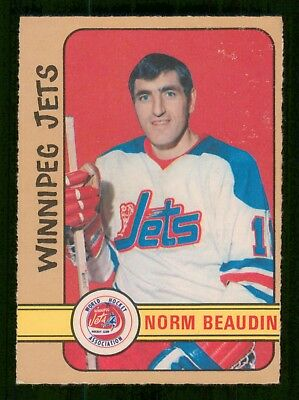 Norm Beaudin 1972-73 O-Pee-Chee Wha No 290 Exmint+ 24039
