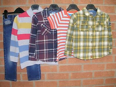 TED BAKER MOTHERCARE F&F etc Boys Bundle T-Shirts Jeans Tops Age 4-5 110cm
