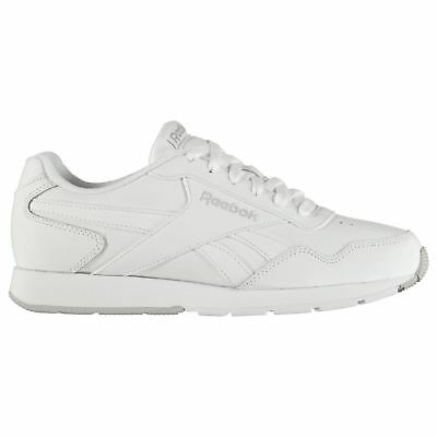 4fbd345319142 Reebok Royal Glide Leather Sneakers Mens Gents Classic Laces Fastened Padded