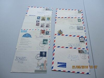 Approx 18 x Lithuania Commercial Mail Covers. See Pics for Info.