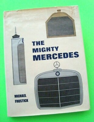 THE MIGHTY MERCEDES 1973 H-C w/ DJ Dalton Watson 100's OF PHOTOS Compl History