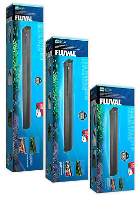 Fluval T5 Quad Light Unit Aquarium Fish Tank Lighting Blue LED Night Light Unit