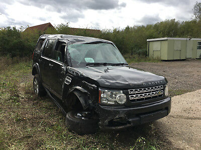 Land Rover Discovery 4 Gs Tdv6 3.0 Unrecorded With V5 Logbook V5C Salvage