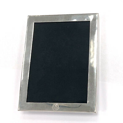 Tiffany & Co Pewter Rectangular Picture Frame 4.25 x 3.25""