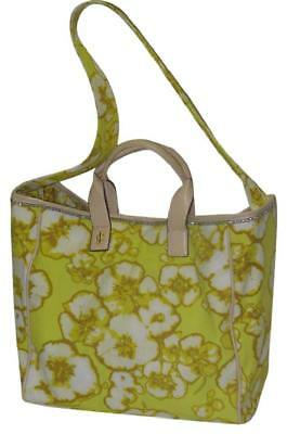 BEAUTIFUL JUICY COUTURE Canvas Tie Dye Beach Tote Blue Flowers NWT ... 80172792d