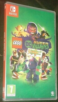 LEGO DC Super-Villains Nintendo SWITCH NEW SEALED Free UK p&p UK SELLER