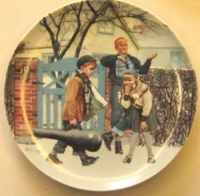 BING and GRONDAHlL Moments of Truth plate, The hard way of art 1984 Kurt Ard