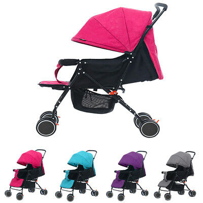 4Style Foldable Pushchair Newborn Baby Stroller Buggy Carriage Infant Travel Car